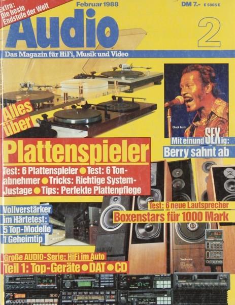 Audio 2/1988 Zeitschrift