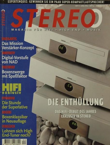 Stereo 4/1996 Zeitschrift