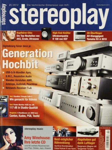 Stereoplay 2/2012 Zeitschrift