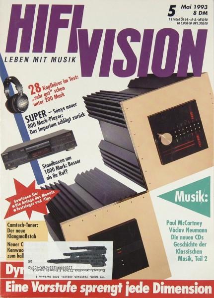 Hifi Vision 5/1993 Zeitschrift