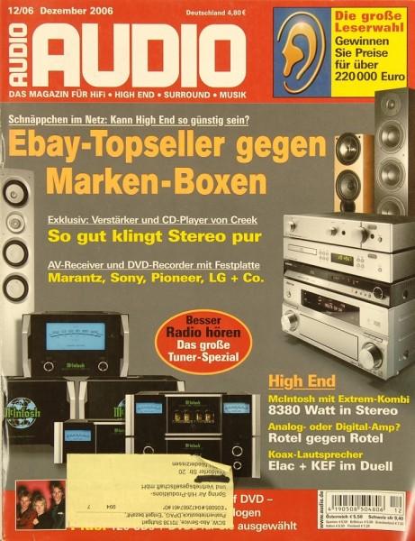 Audio 12/2006 Zeitschrift