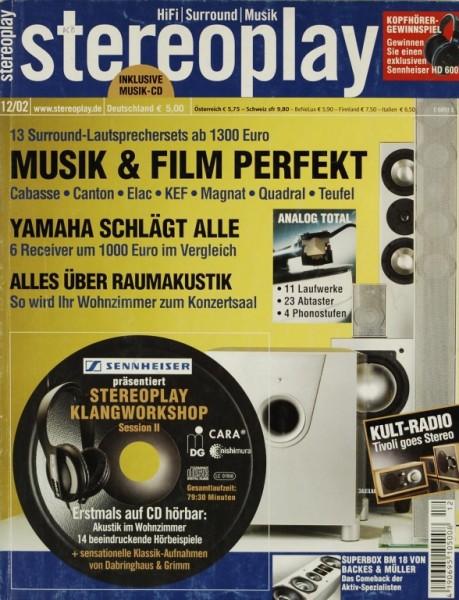 Stereoplay 12/2002 Zeitschrift