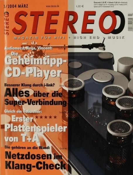 Stereo 3/2004 Zeitschrift