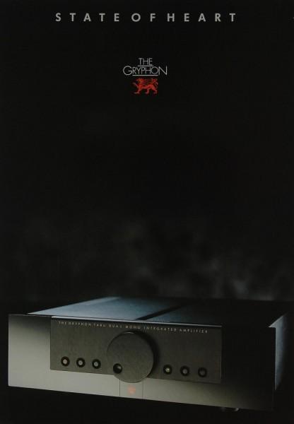 Gryphon Tabu Prospekt / Katalog