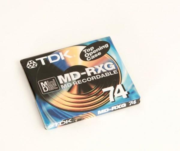 TDK MD-RXG 74 Minidisc NEU!