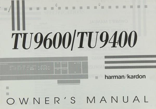 Harman / Kardon TU 9600 / TU 9400 Bedienungsanleitung