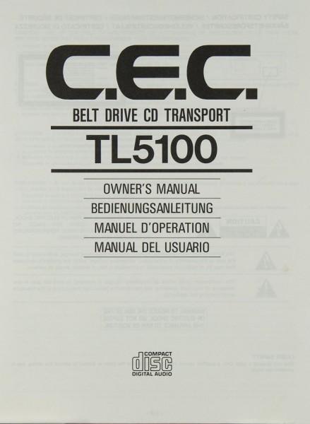 CEC TL 5100 Bedienungsanleitung