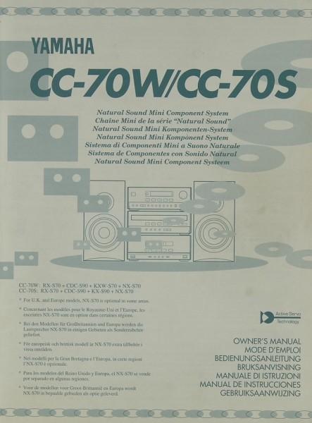Yamaha CC-70 W / CC-70 S Bedienungsanleitung