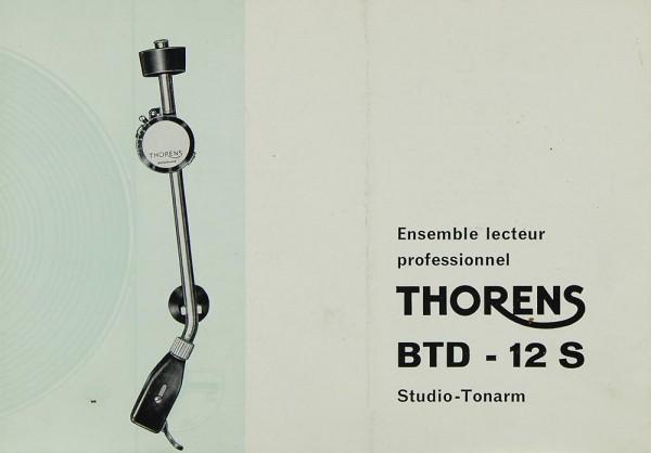 Thorens BTD-12 S Bedienungsanleitung