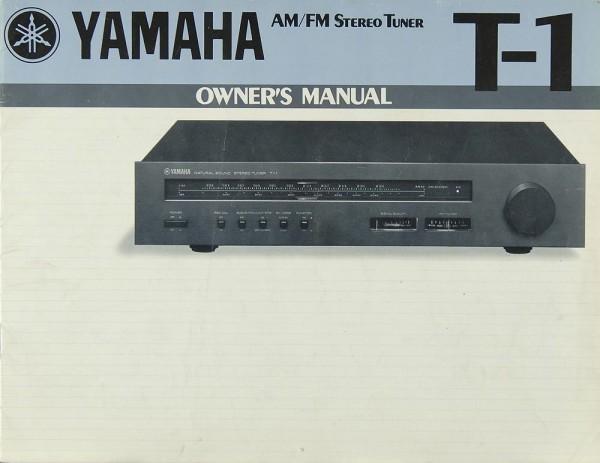 Yamaha T-1 Bedienungsanleitung