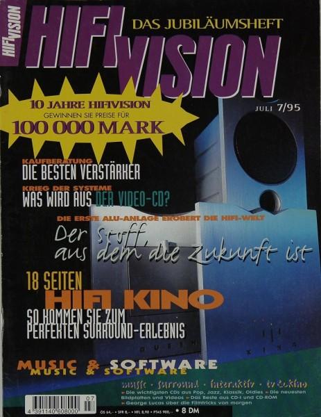 Hifi Vision 7/1995 Zeitschrift