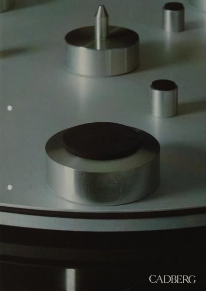 Cadberg CD 9 / CD 9 S / CD 12 Prospekt / Katalog