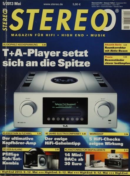 Stereo 5/2013 Zeitschrift