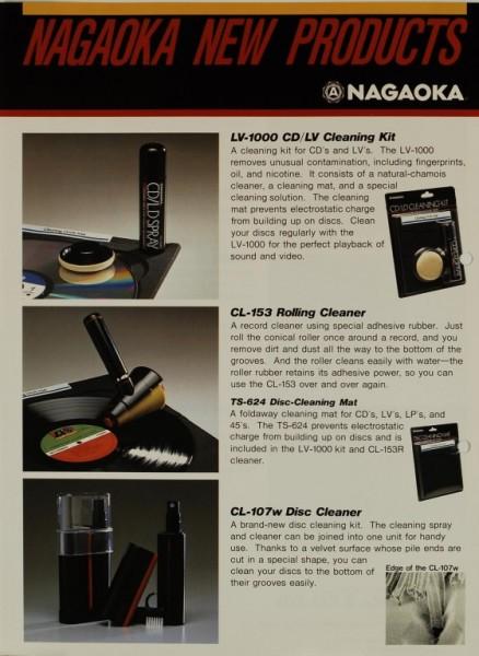 Nagaoka Nagaoka New Products Prospekt / Katalog