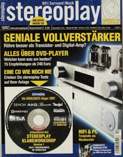 Stereoplay 10/2002 Zeitschrift
