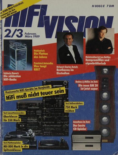 Hifi Vision 2 & 3/1989 Zeitschrift
