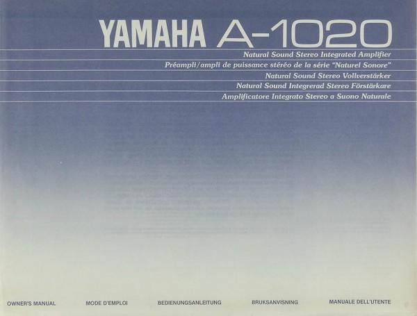 Yamaha A-1020 Bedienungsanleitung