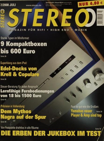 Stereo 7/2008 Zeitschrift