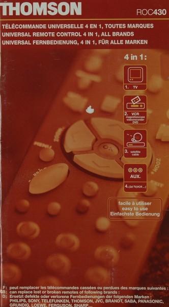 Thomson ROC 430 Prospekt / Katalog