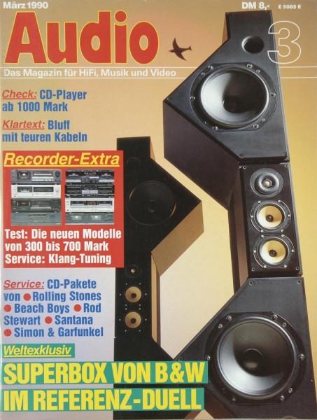 Audio 3/1990 Zeitschrift