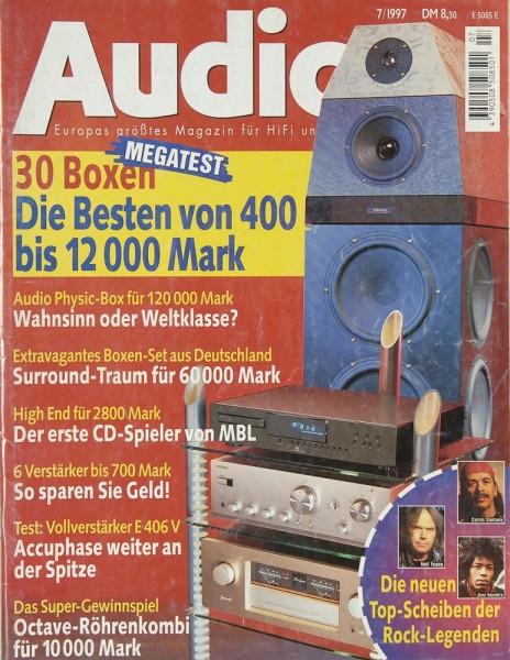Audio 7/1997 Zeitschrift