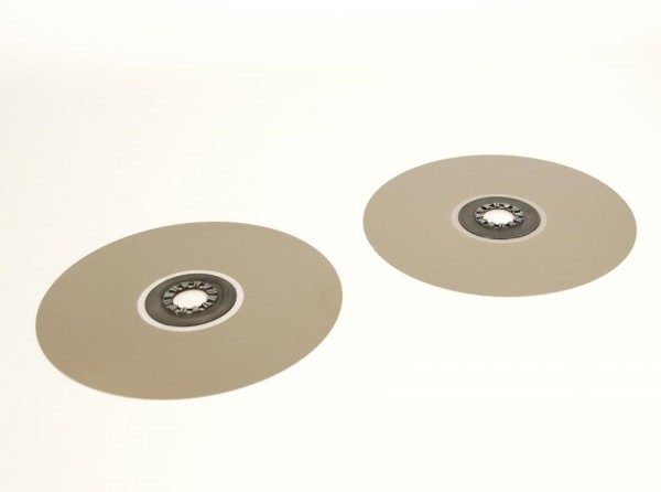 Telefunken Bandteller anthrazitbraun 30 cm Paar