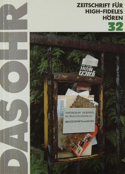 Das Ohr 32 Zeitschrift