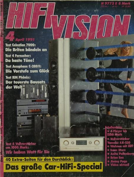 Hifi Vision 4/1991 Zeitschrift