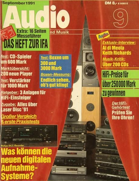 Audio 9/1991 Zeitschrift