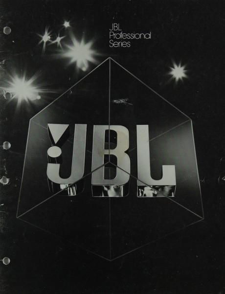 JBL Professional Series Prospekt / Katalog