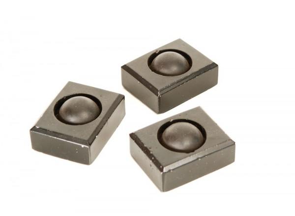 Gerätefüße Kunststein Gummi 3er Set