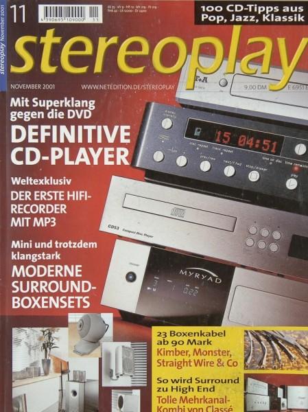 Stereoplay 11/2001 Zeitschrift