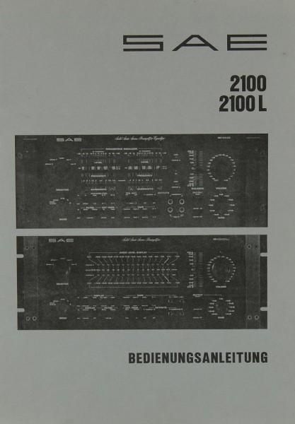 SAE 2100 / 2100 L Bedienungsanleitung