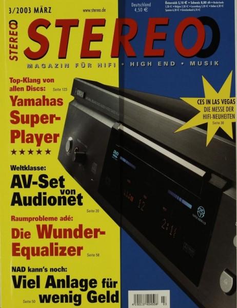Stereo 3/2003 Zeitschrift