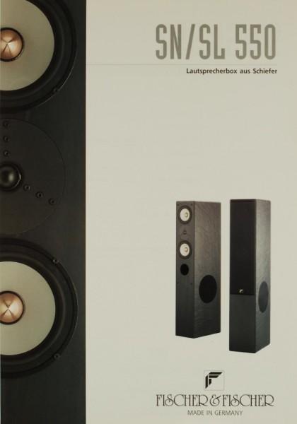 Fischer & Fischer SN / SL 550 Prospekt / Katalog