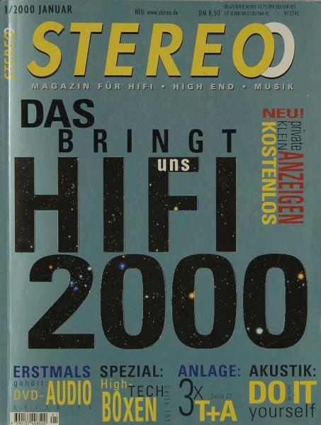 Stereo 1/2000 Zeitschrift