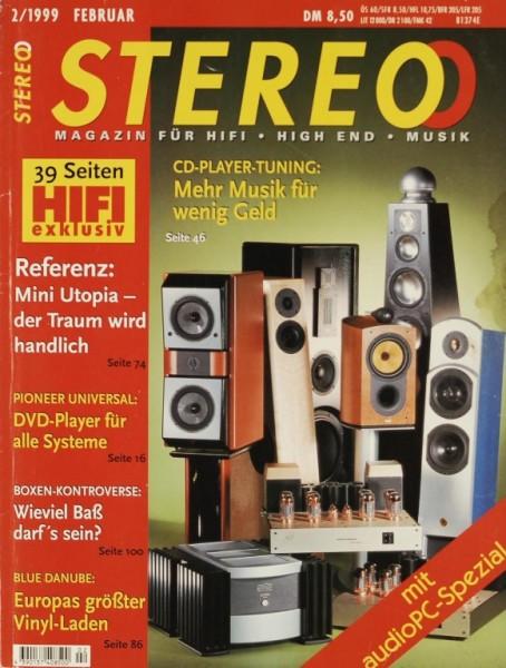 Stereo 2/1999 Zeitschrift