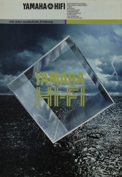 Yamaha HI-FI - 100 Jahre musikalische Erfahrung Prospekt / Katalog
