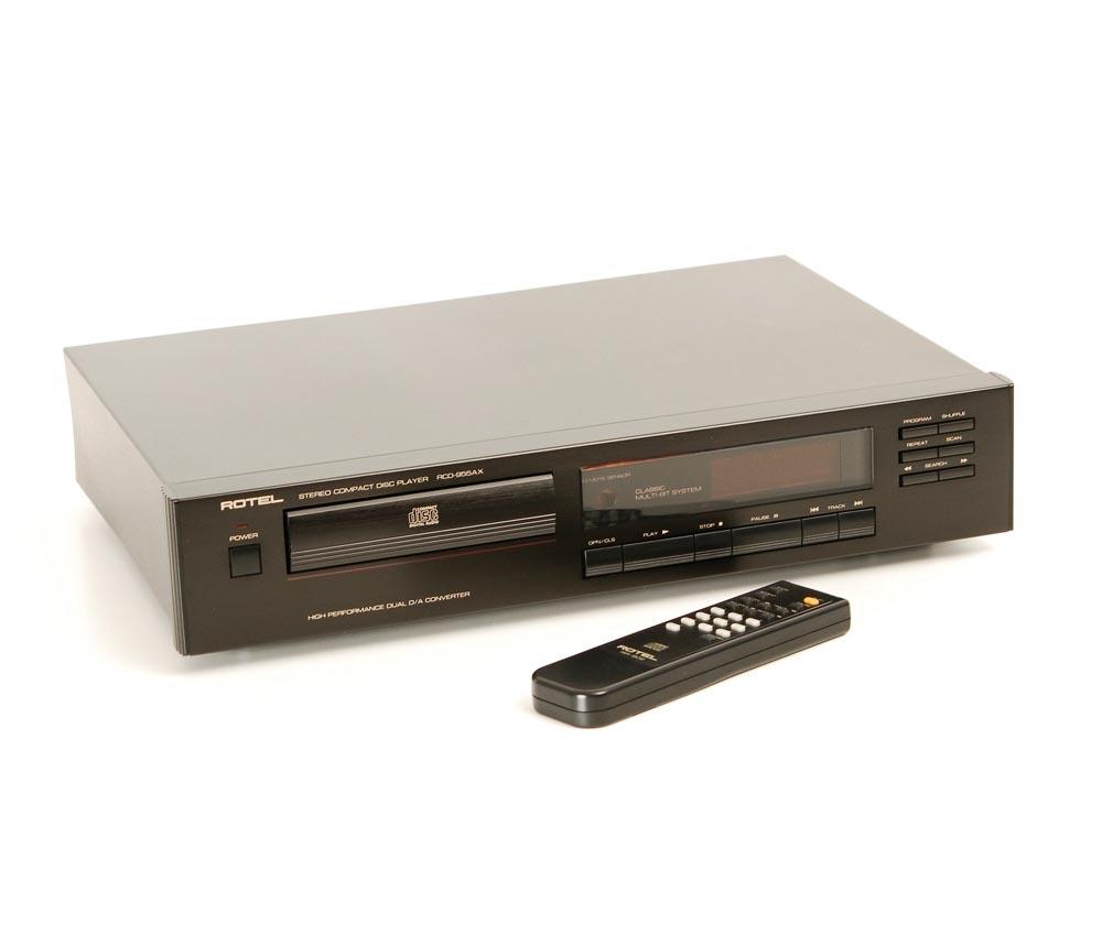 rotel rcd 955 ax cd player cd ger te ger te gebrauchte hifiger te kaufen. Black Bedroom Furniture Sets. Home Design Ideas
