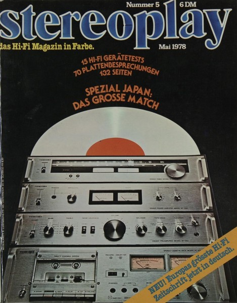 Stereoplay 5/1978 Zeitschrift