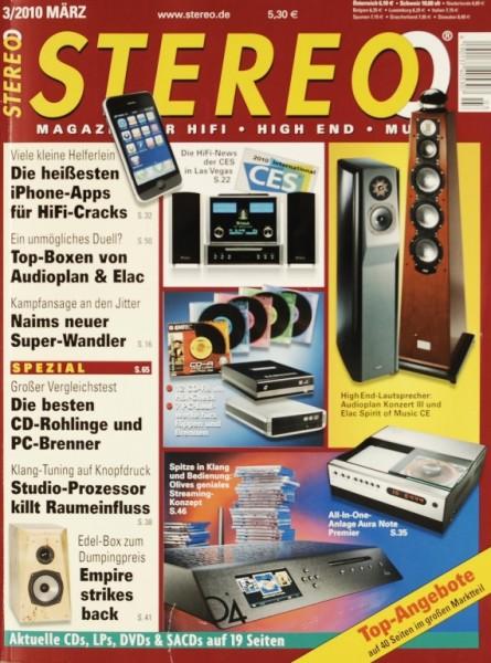 Stereo 3/2010 Zeitschrift