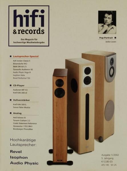 Hifi & Records 1/2002 Zeitschrift