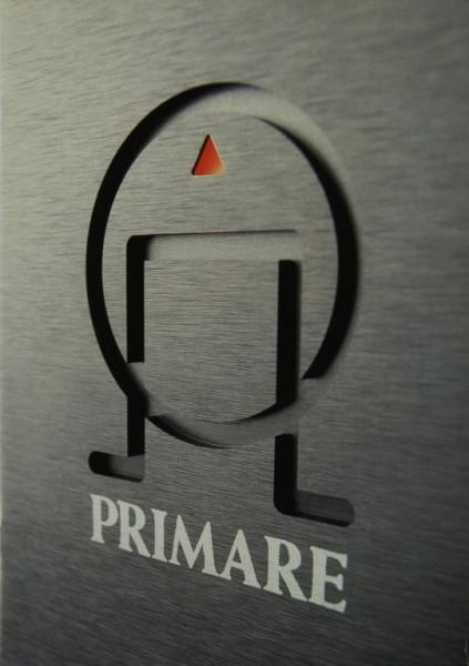 Primare Produktübersicht Prospekt / Katalog