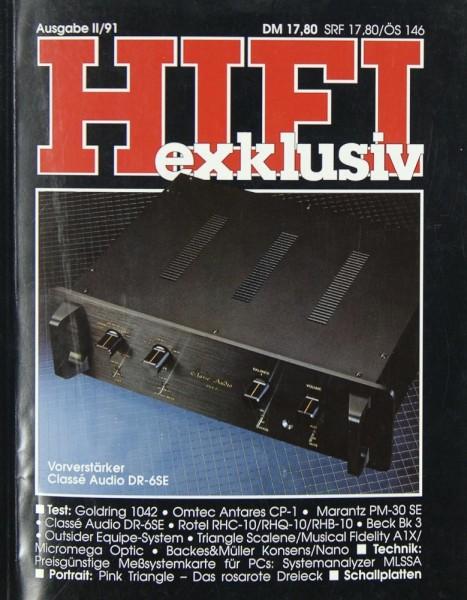 Hifi Exklusiv II / 91 Zeitschrift