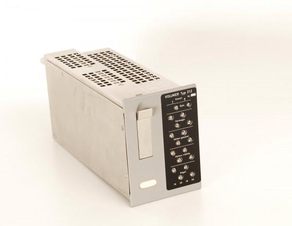 Vollmer Aufnahmeverstärker Typ 212