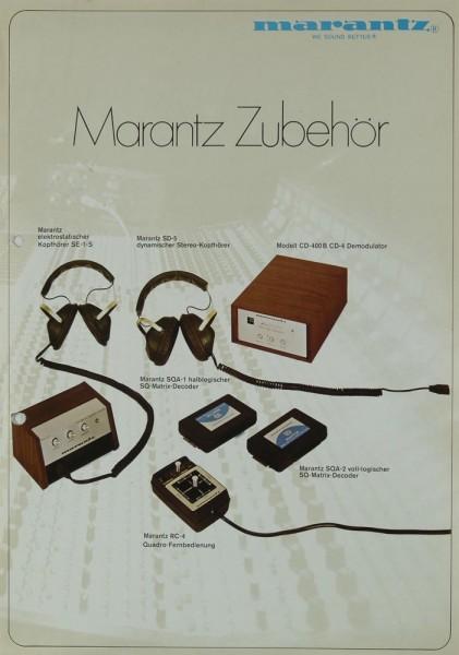Marantz Zubehör Prospekt / Katalog