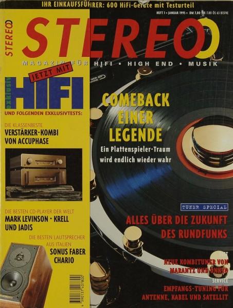 Stereo 1/1995 Zeitschrift
