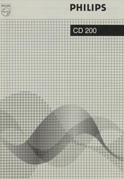 Philips CD 200 Bedienungsanleitung