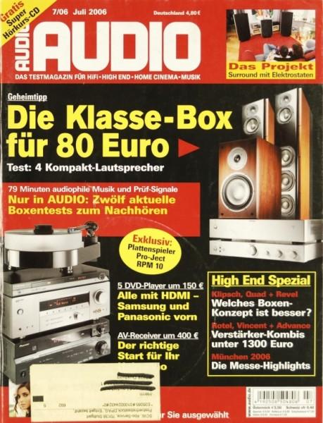 Audio 7/2006 Zeitschrift