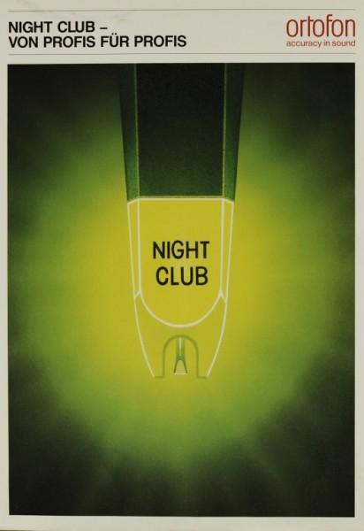 Ortofon Night Club Prospekt / Katalog